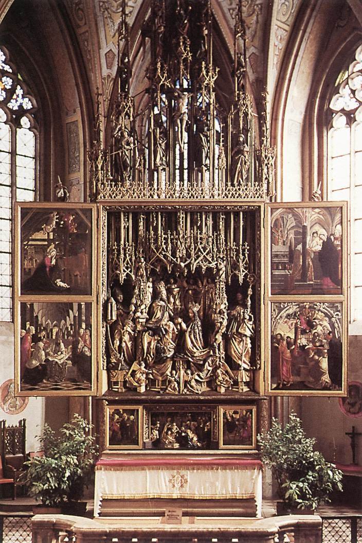 Altarpiece For The Pilgrimage Church Of Sankt Wolfgang