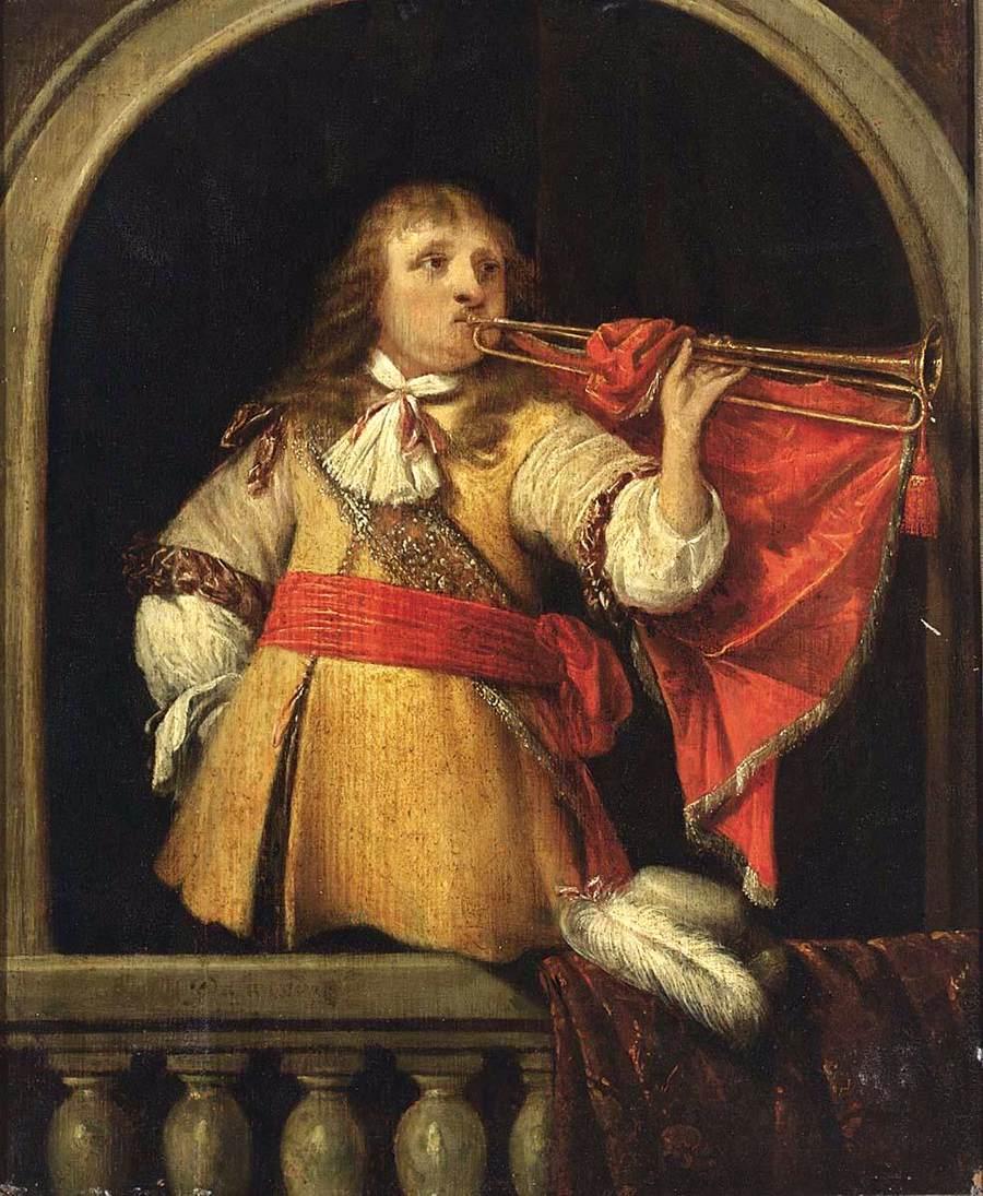 baroque trumpet painting - photo #18