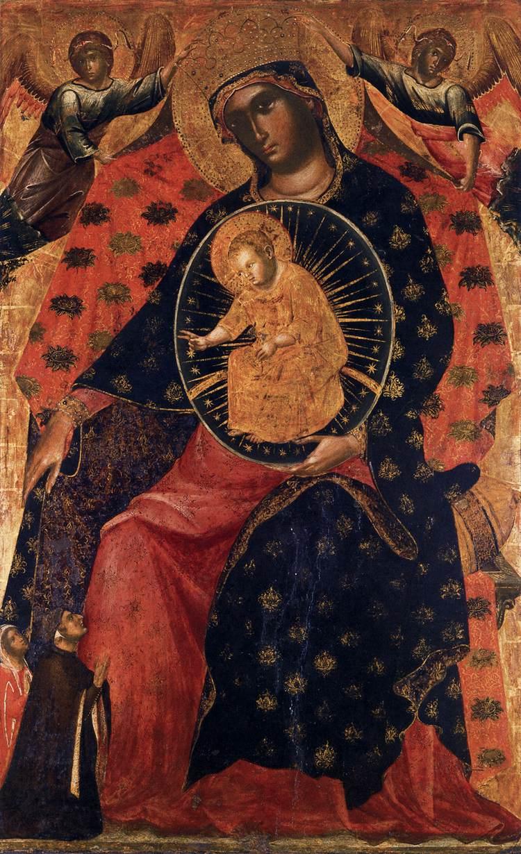 Madonna col bambino e due committenti di paolo veneziano - Finestre sull arte ...