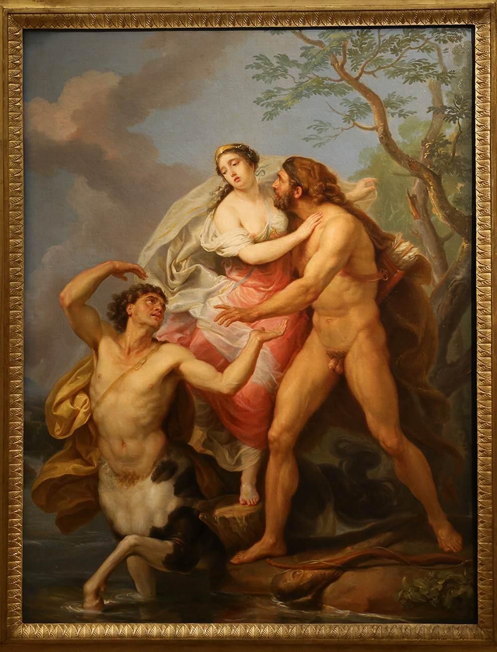 Nessus and Deianira by PÉCHEUX, Laurent