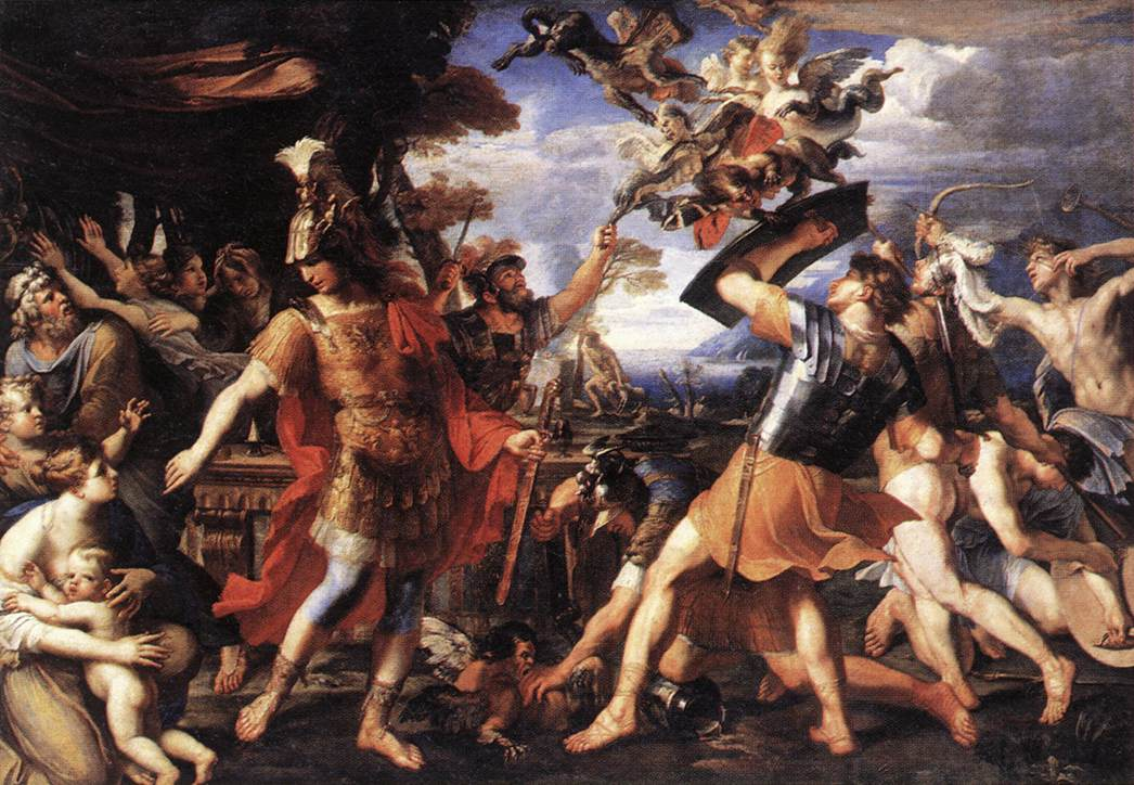 The aeneid artistic expression or a