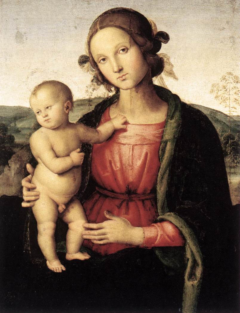 The Madonna And Child Painting   Madonna and Child...   Pinterest ...