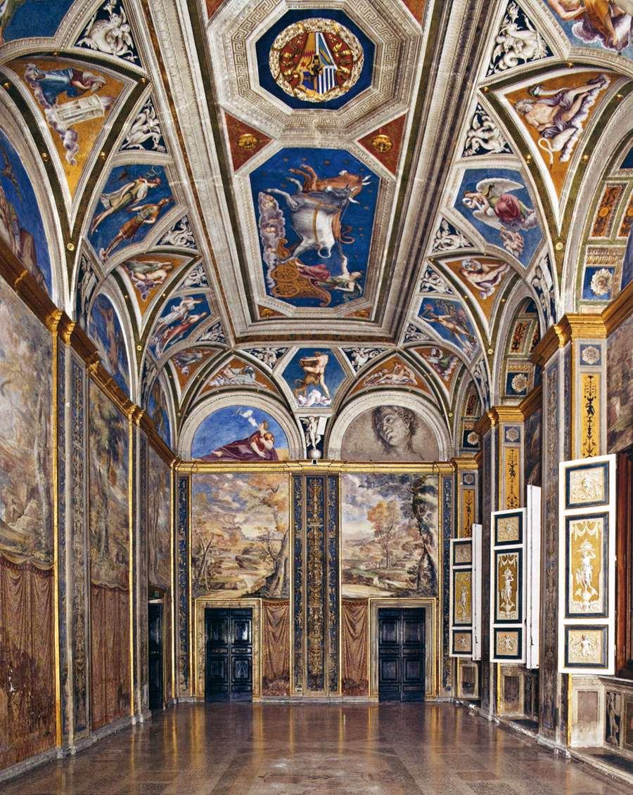 View of the Loggia di Galatea by PERUZZI, Baldassare