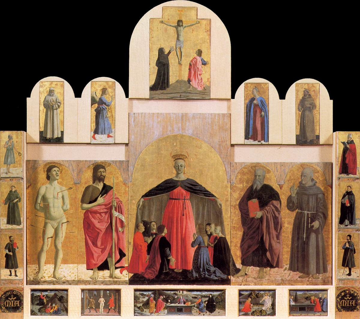 Polyptych of the Misericordia by PIERO DELLA FRANCESCA