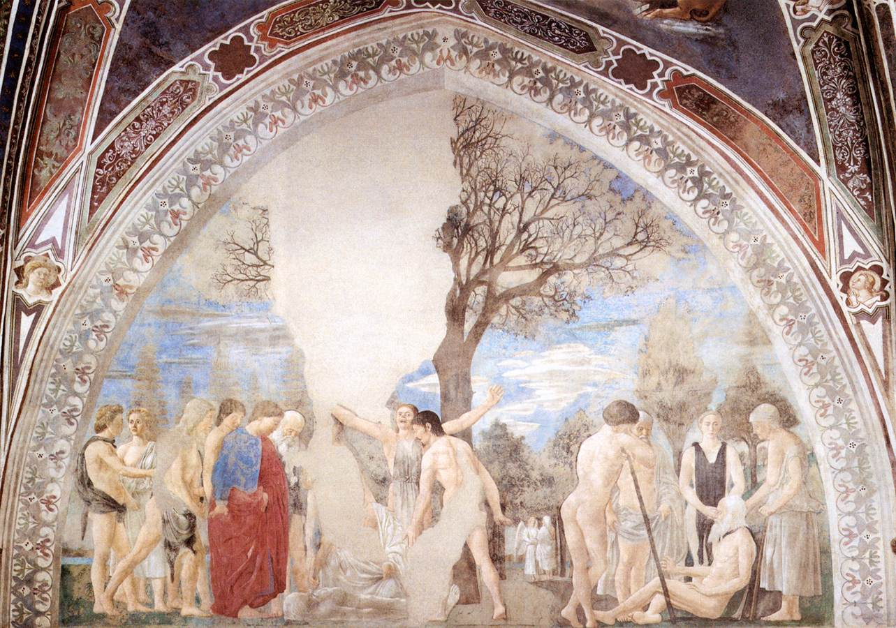 1. Death of Adam by PIERO DELLA FRANCESCA