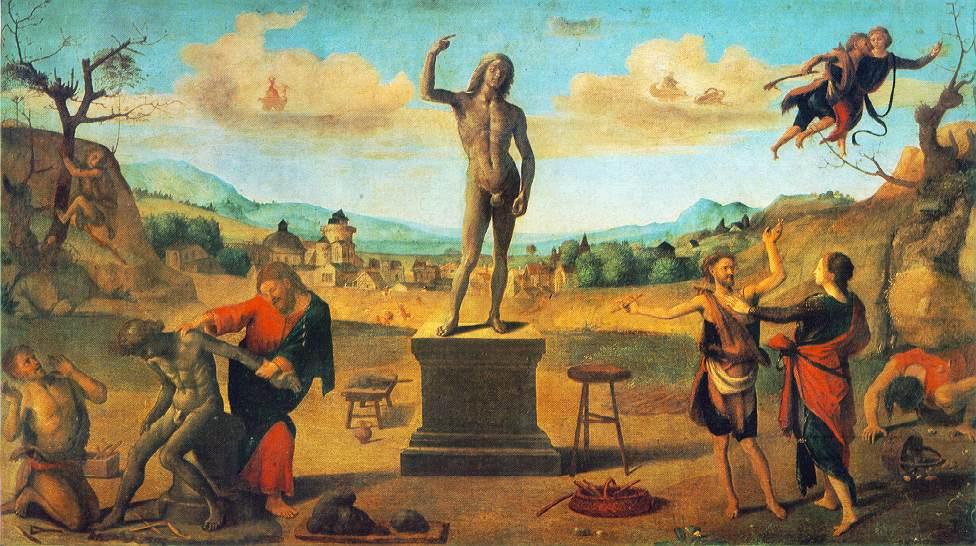 Prometheus Myth Art The Myth of Prometheus