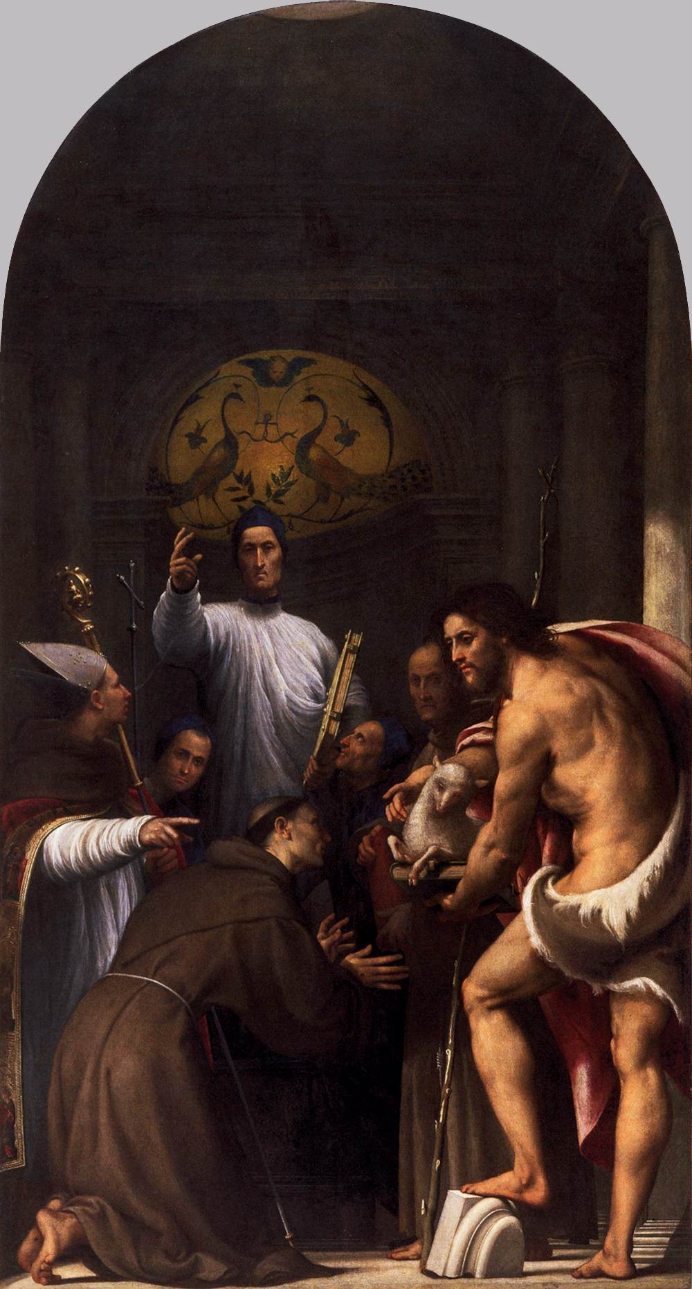 St lorenzo giustiniani and other saints 1532 oil on canvas