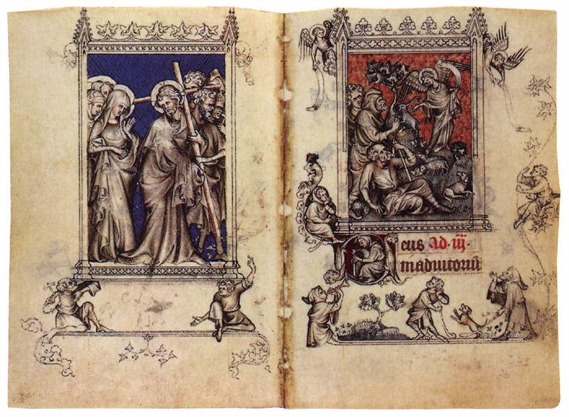 Virgin Of Jeanne Devreux Book of Hours of Jeanne d