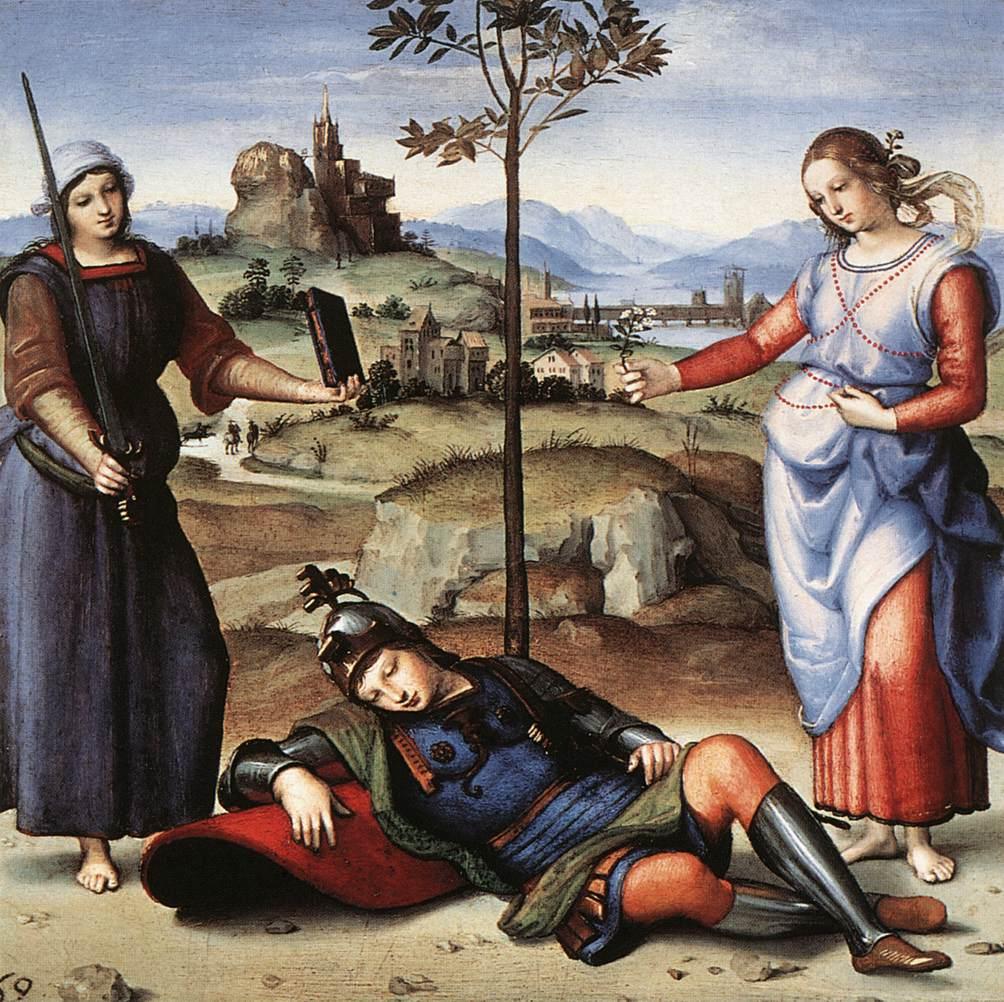 Dipinto di Raffaello Sanzio - immagine web