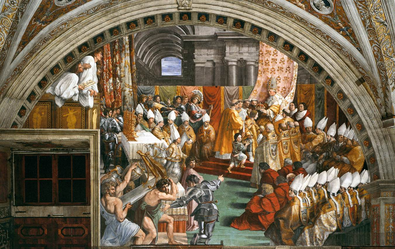charlemagne coronation The coronation of charles is not only the central event of the middle ages, it is also one of those very few events of which, taking them singly, it may be said that if they had not happened, the history of the world would have been different such was the judgment of a noted scholar, james bryce.