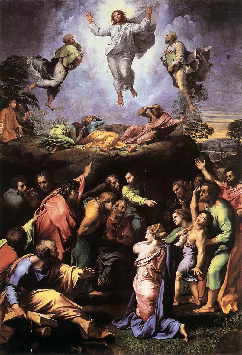 The Transfiguration by RAFFAELLO Sanzio