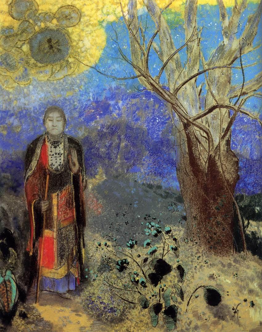 REDON, Odilon French painter and printmaker (b. 1840, Bordeaux, d. 1916, Paris)