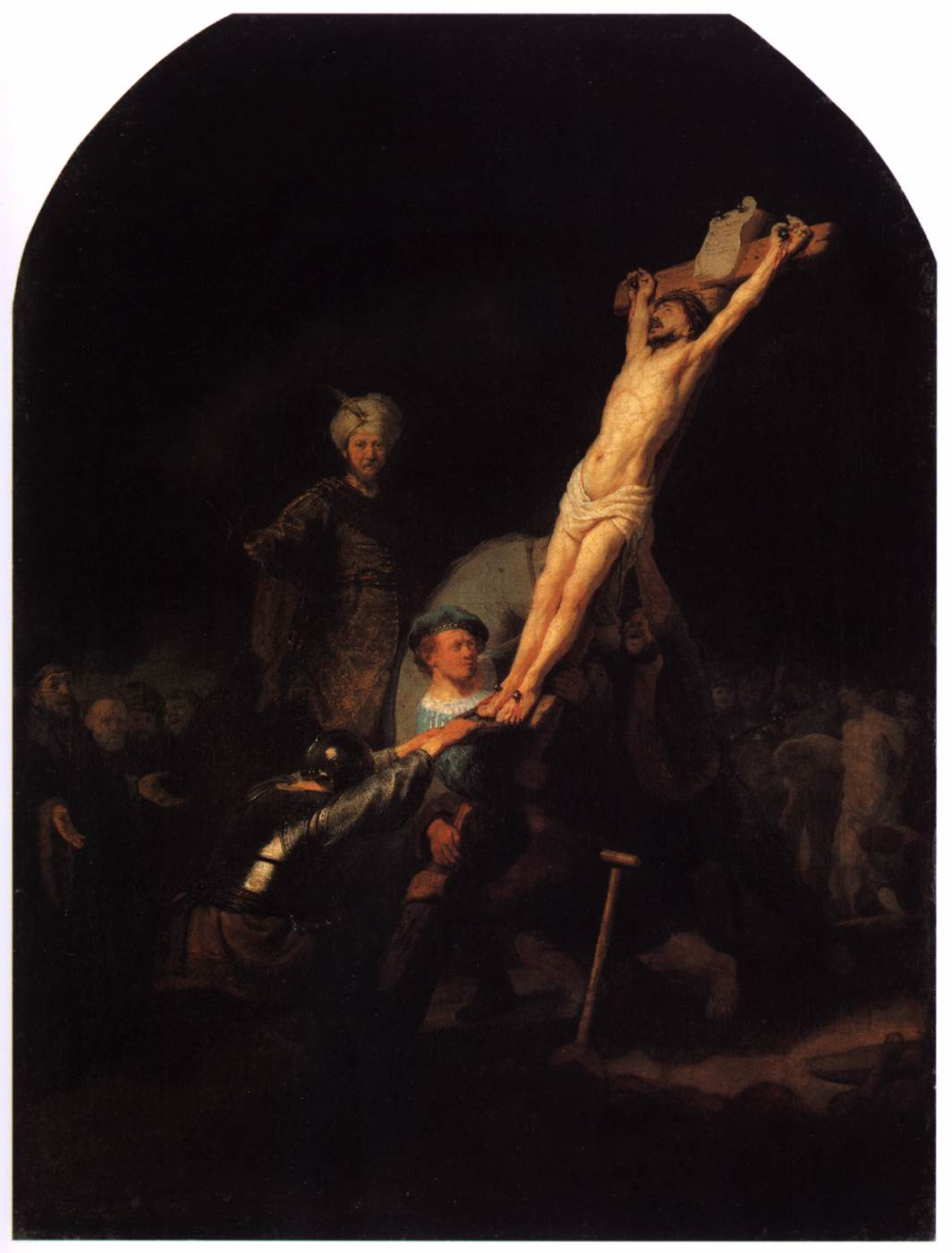 """Raising the Cross"" Rembrandt"