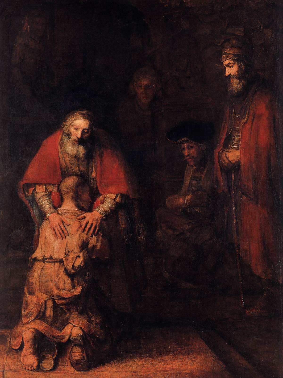 The Return Prodigal Son Rembrandt Harmenszoon