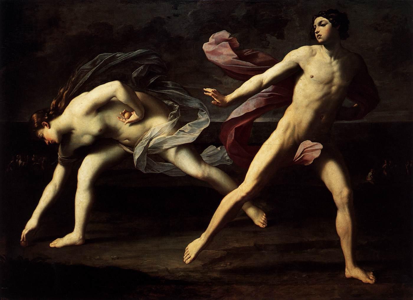 Hipómenes y Atalanta - Guido Reni (Museo del Prado - Madrid)
