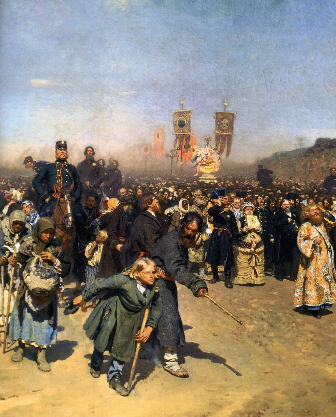 Repin ilya yefimovich for The art of painting