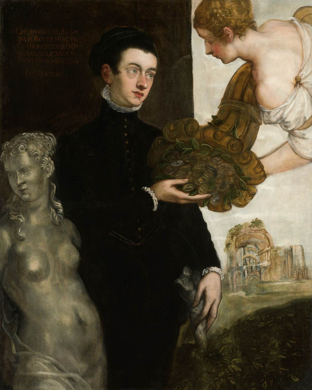 Marietta Robusti Portrait of Ottavio Strada by ROBUSTI Marietta