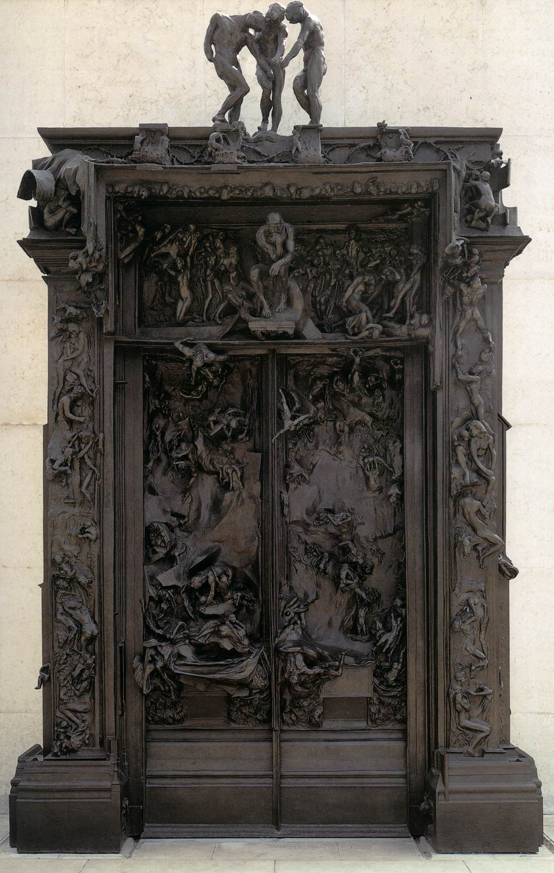 The Gates Of Hell By Rodin Auguste