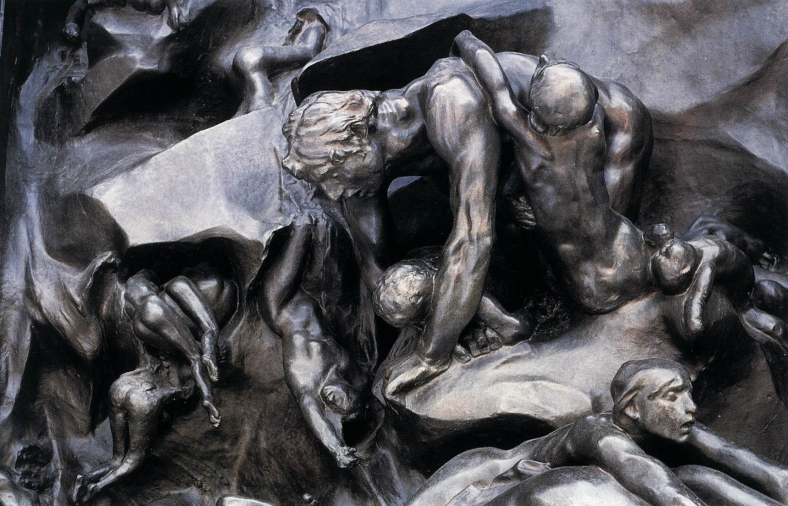 The Gates of Hell  detail  Rodin Gates Of Hell