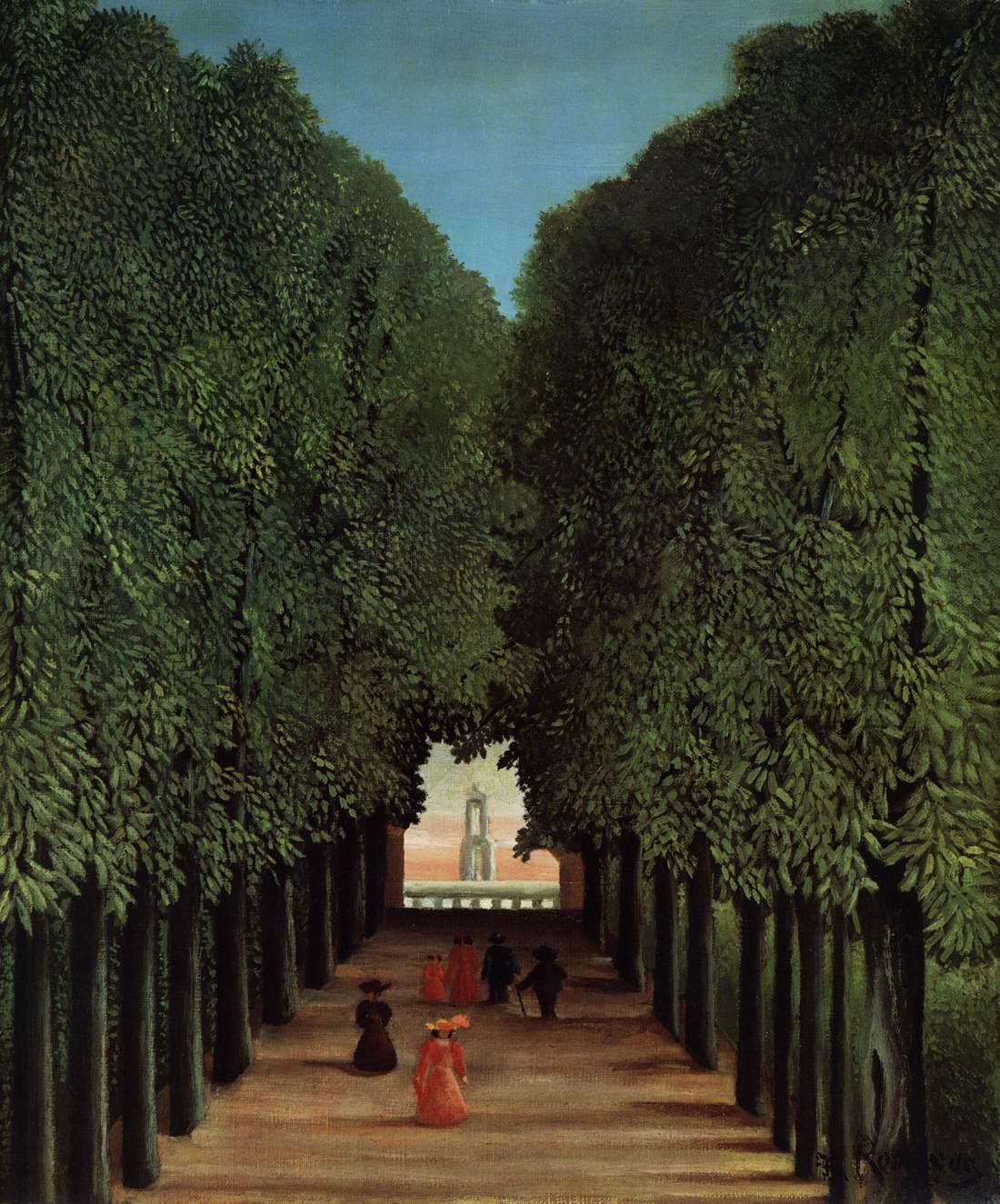 Rousseau henri - Parking porte de saint cloud vinci park ...