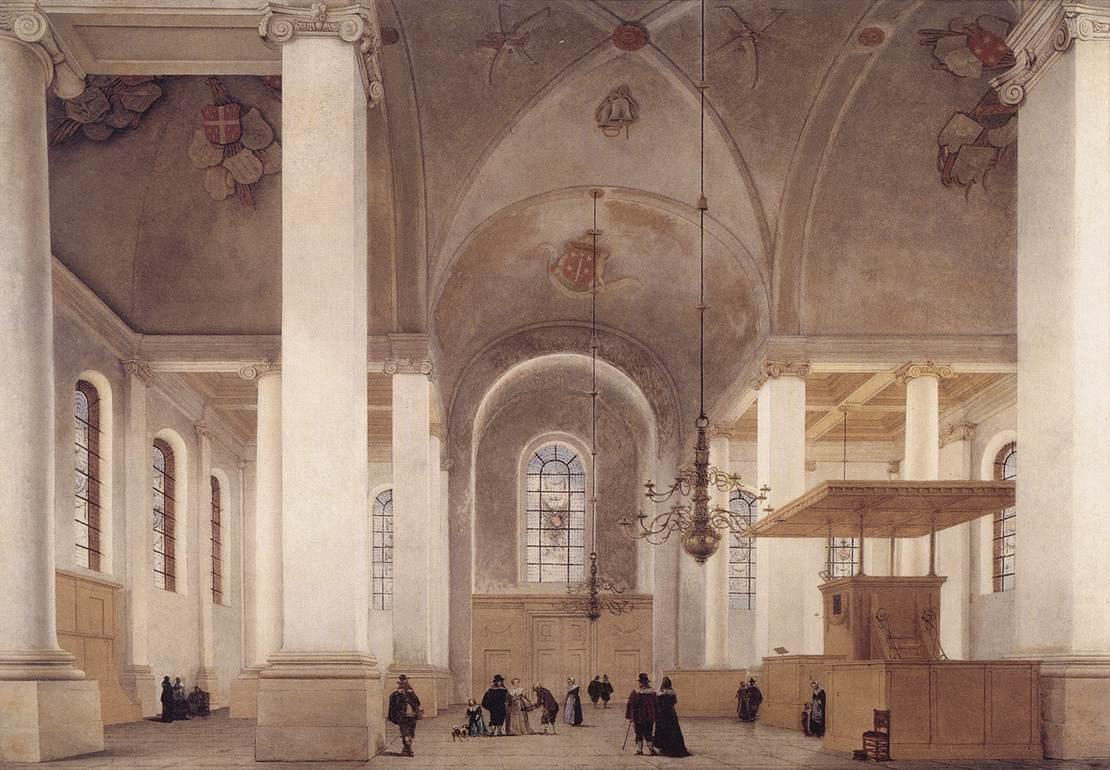 Pieter jansz saenredam alchetron the free social for Interieur haarlem