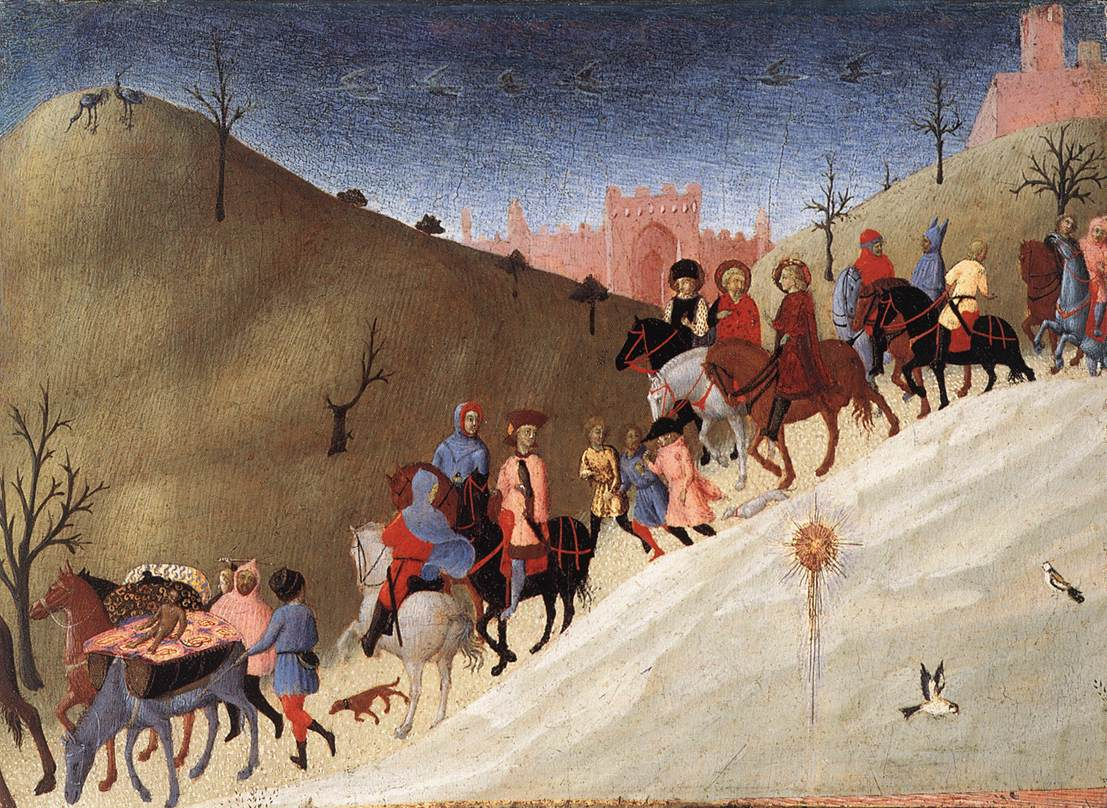 The Journey Of The Magi By Sassetta