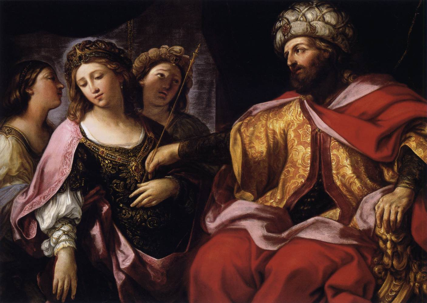 King and a Queen   Esther and AhasuerusXerxes And Esther