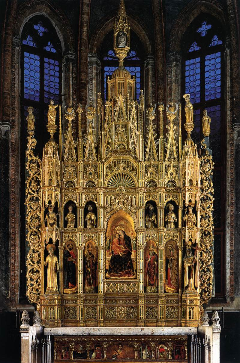 Image result for Polyptych of the Virgin