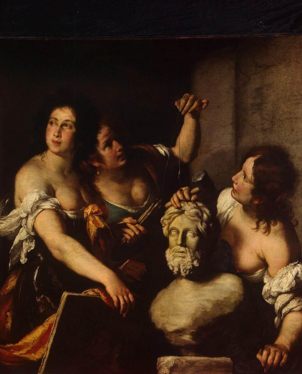 Berardo Strozzi, Allegoria delle arti
