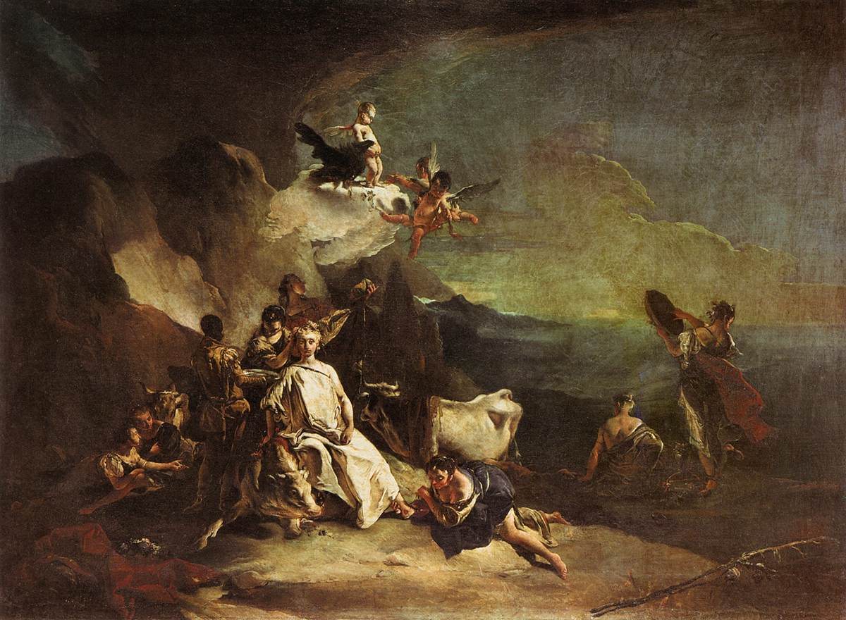 the rape of europa by tiepolo giovanni battista