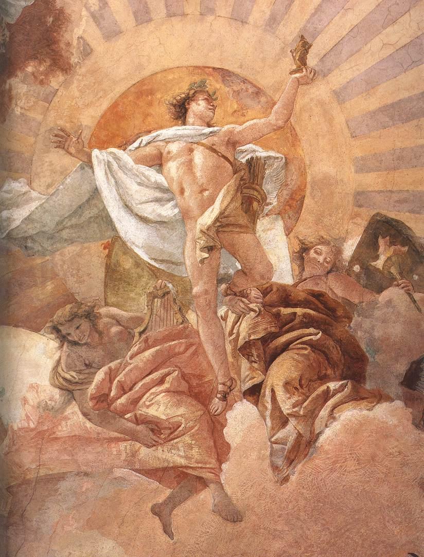 TIEPOLO, Giovanni Battista Apollo and the Continents 1752-53