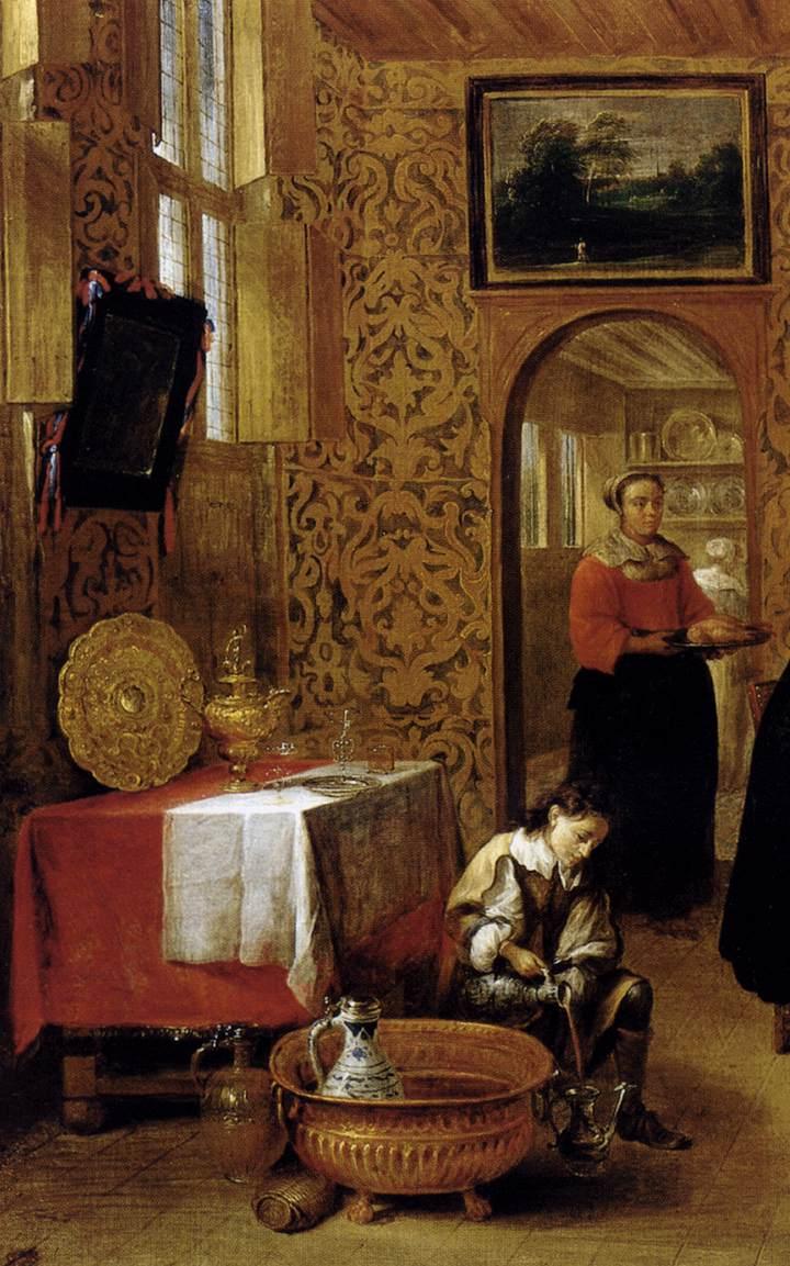 TILBORGH, Gillis van Family portrait 1600s