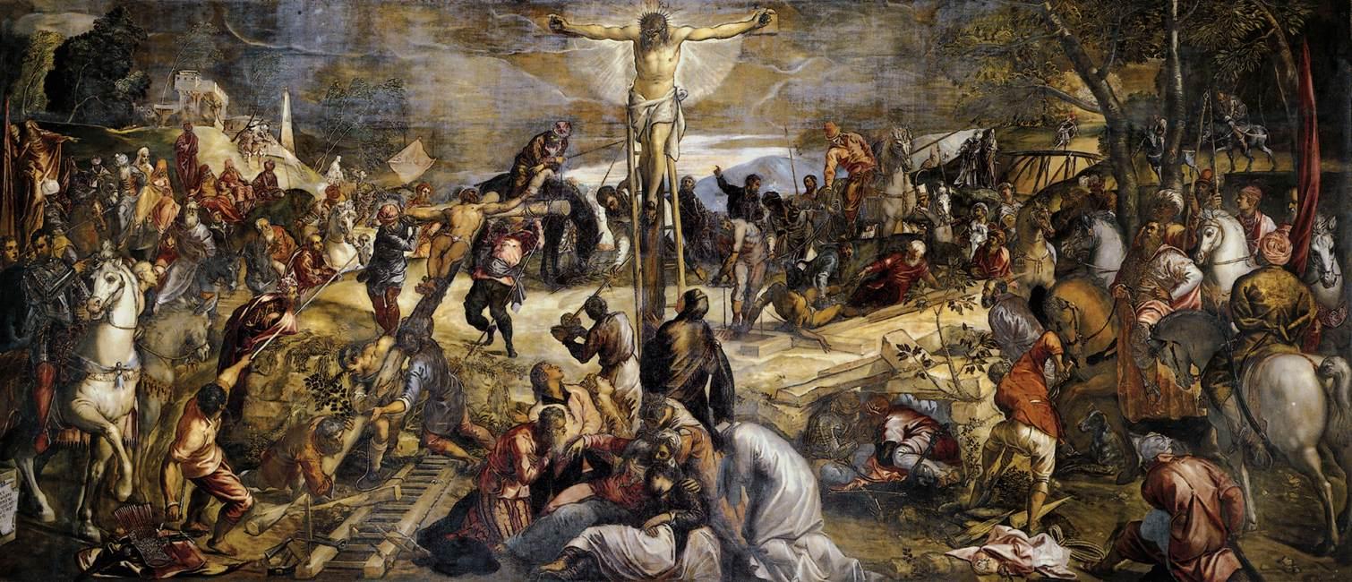 Crocifissione di Tintoretto