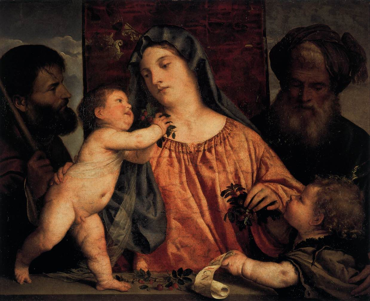 the paintings of tiziano vecelllio Tiziano vecelli or tiziano vecellio (pronounced [titˈtsjaːno veˈtʃɛlljo] c 1488/1490 – 27 august 1576), known in english as titian , was an italian painter, the most important member of the 16th-century venetian school.