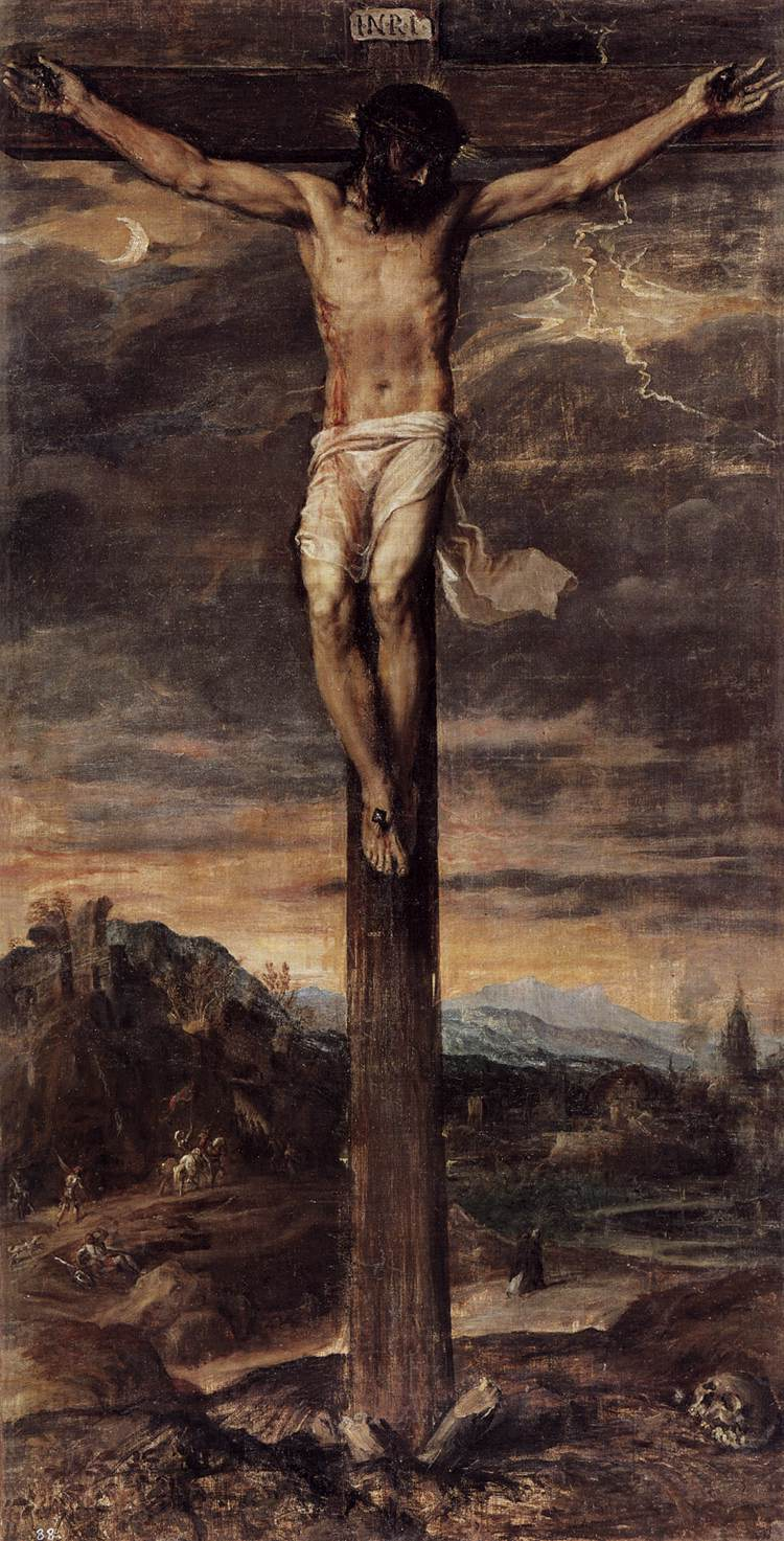 The Crucified Lovers: Crucifixion By TIZIANO Vecellio
