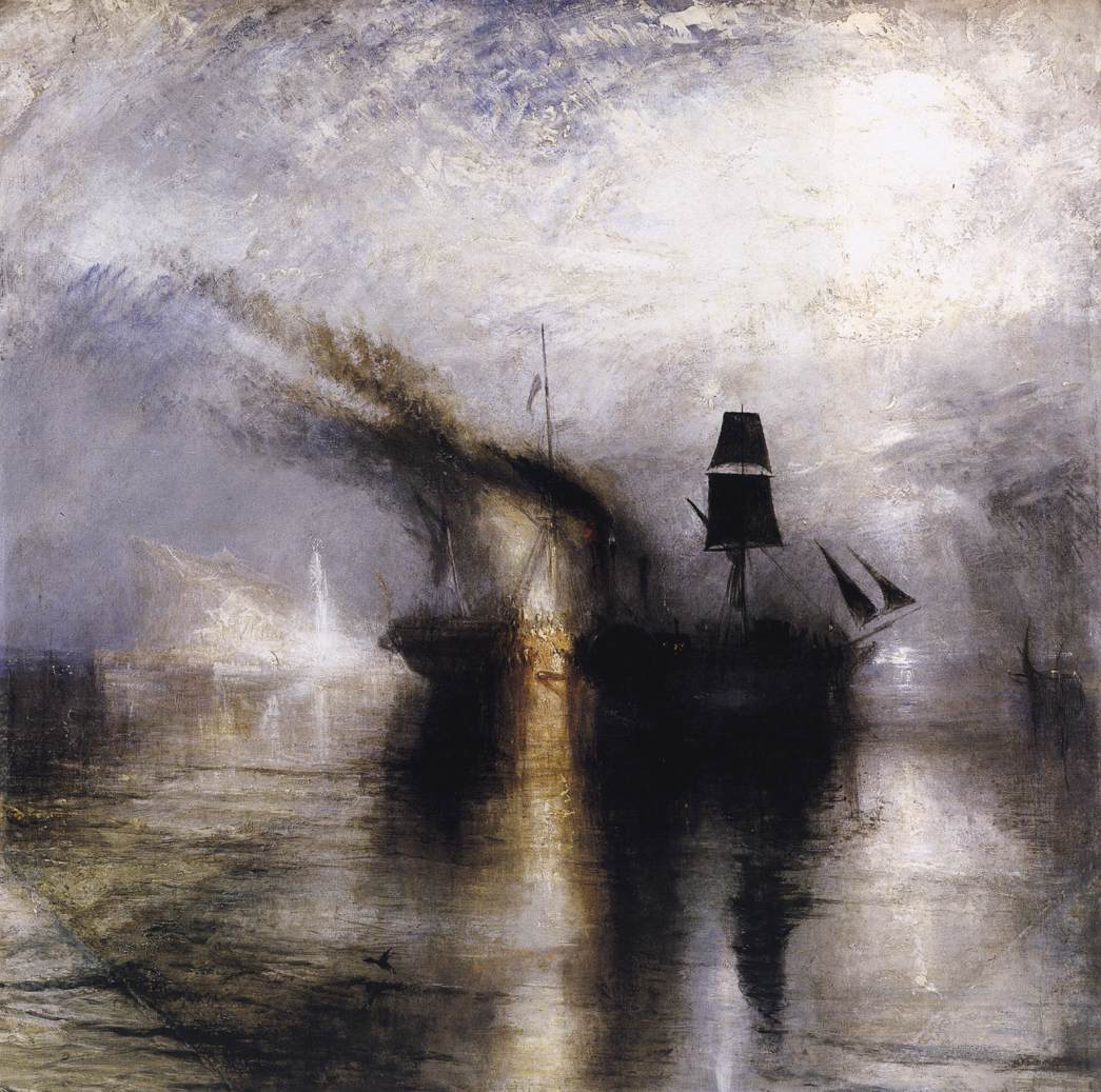 W. Turner - Peace Burial at sea - 1842