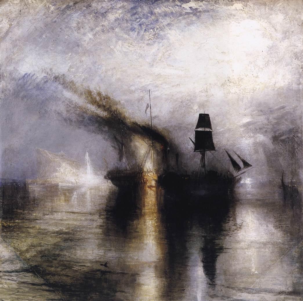 W. Turner - Peace Burial at sea - 1842