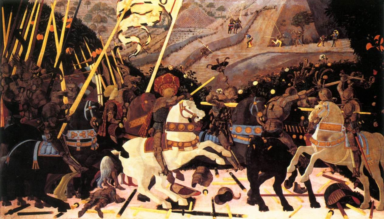 Niccolo da Tolentino Leads the  Uccello Battle Of San Romano