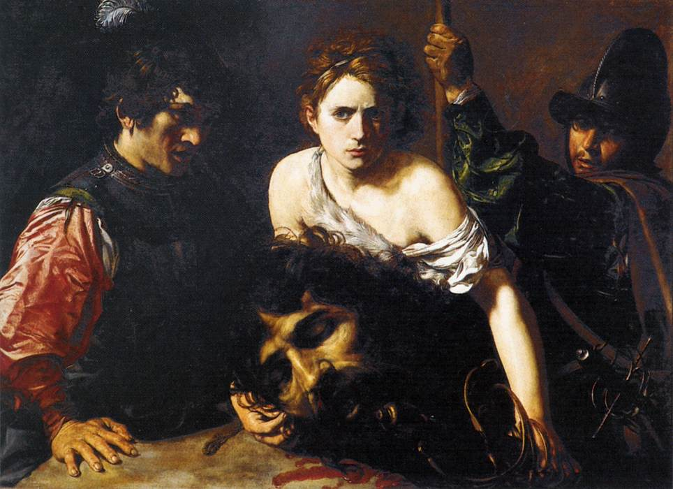 caravaggio david with the head of goliath essay Essay writing service caravaggio sought mercy from roman authorities by recreating david the head of goliath and replacing caravaggio david and goliath is a.