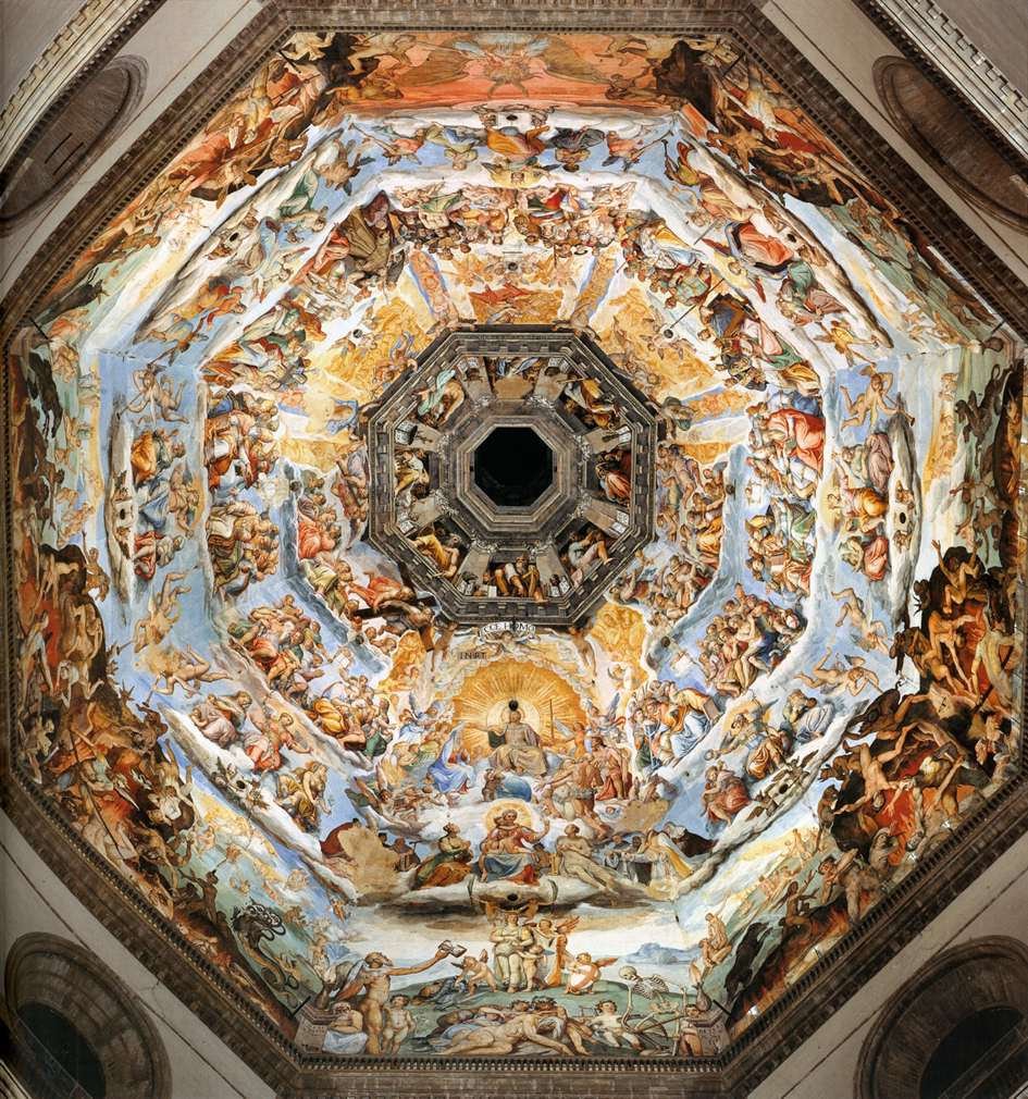 giorgi vasari in the florentine high Born in the florentine subject city of arezzo, giorgio was the child of a potter, and   and religious bodies), vasari produced an immense volume of artistic work,.