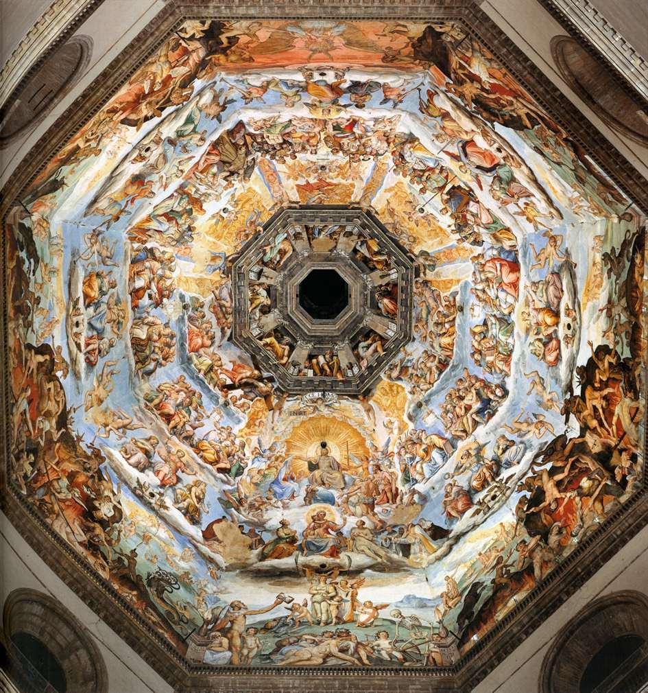 The Last Judgment by VASARI, Giorgio