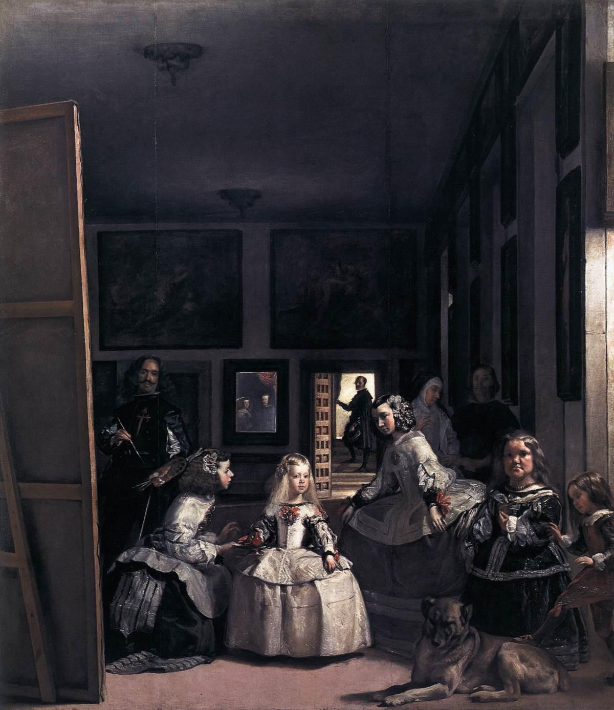 Las Meninas or The Family of Philip IV (1656-57)