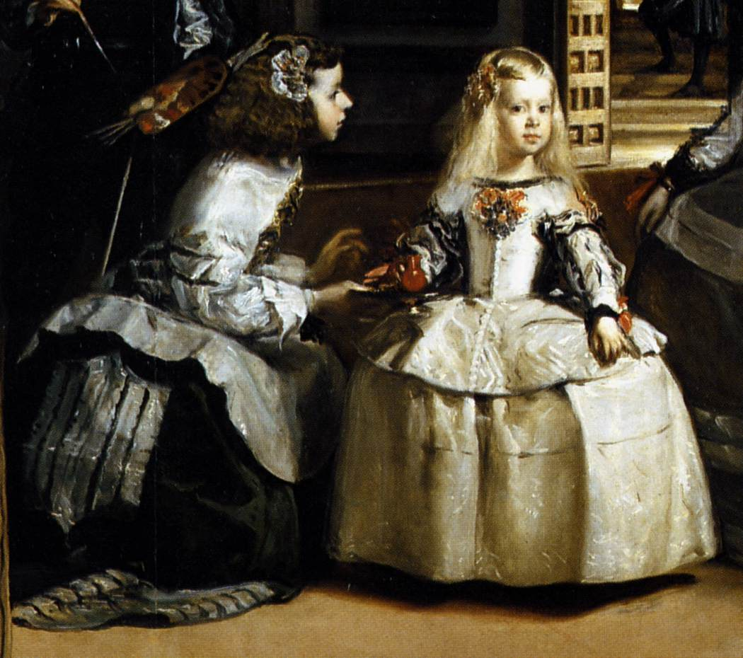 diego velazquez s las meninas Las meninas and the mirror of the prince joel snyder it is ironic that, with few exceptions, the now vast body of critical literature about diego velazquez's las meninas fails to link knowledge to under.
