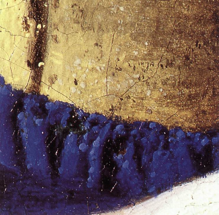 the letter black the milkmaid detail by vermeer johannes 1657