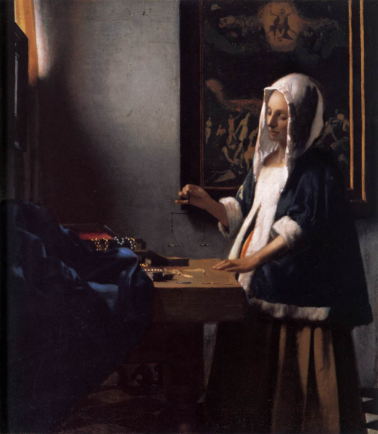an analysis of an imaginary art of vemeer of delft There are works in which a single detail steals the show leonardo's mona lisa is famous for that smile michelangelo's the creation of adam is famous for those hands.