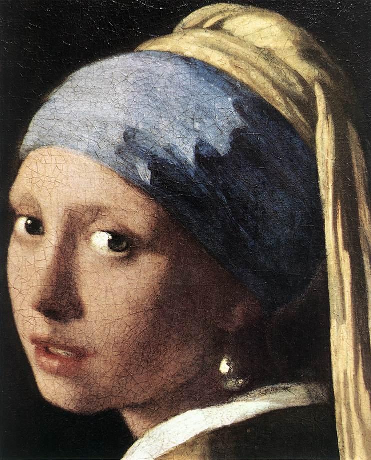 JAN VERMEER VAN DELFT, Rapariga Com o Brinco de Pérola