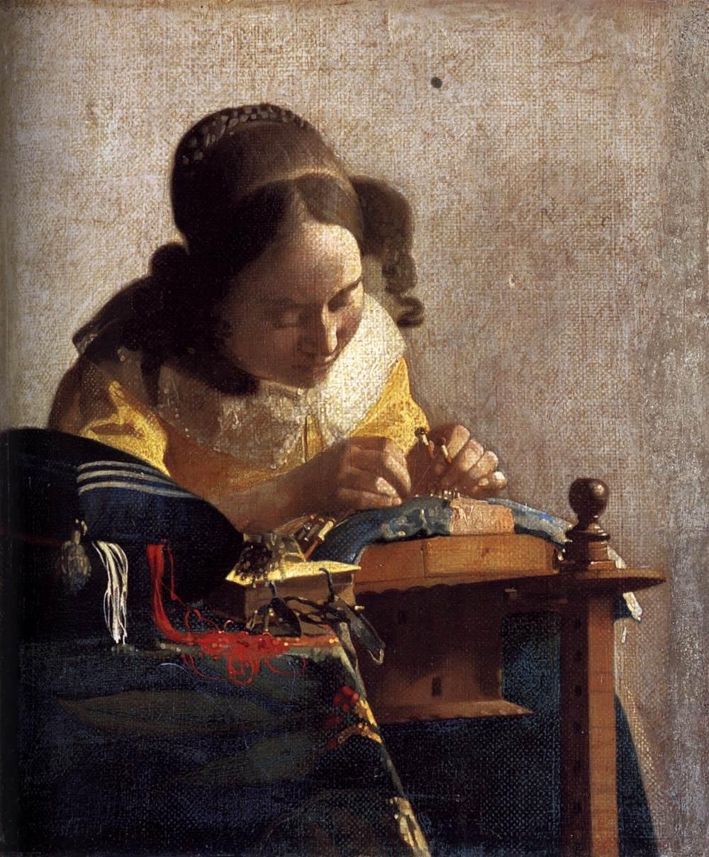 The dutch baroque jan vermeer view thread adlandpro - La lechera de vermeer ...