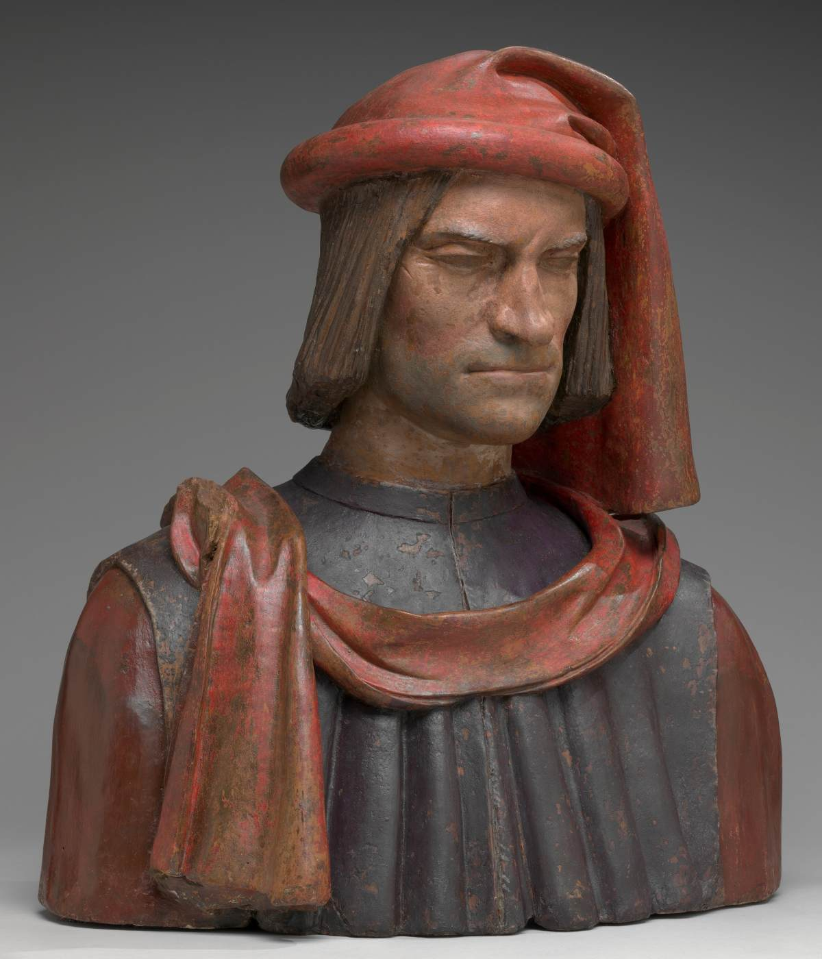 contempt, dislike, faces, portraits, sculptures, verrocchio