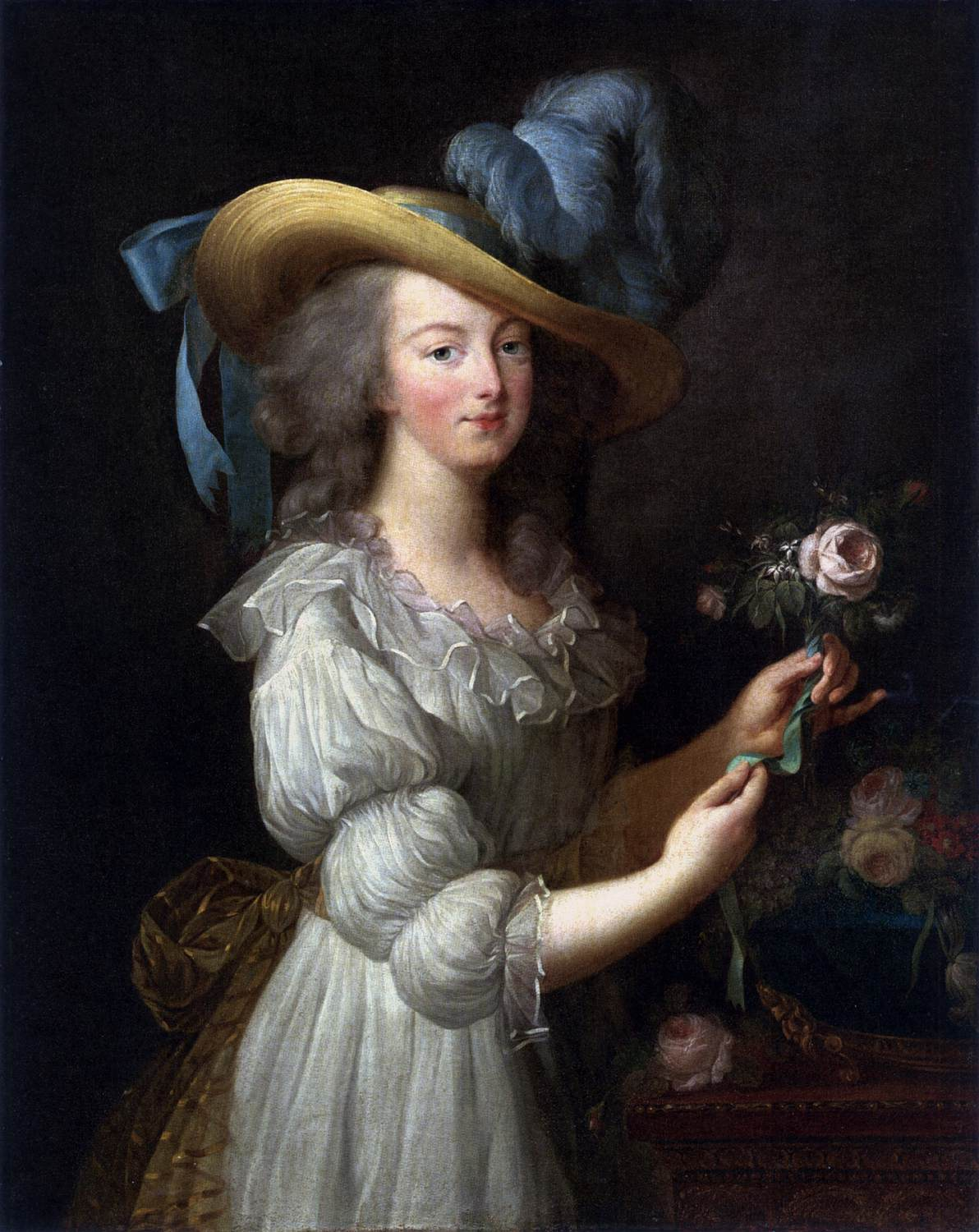 Marie Antoinette S Portrait That Caused Scandal