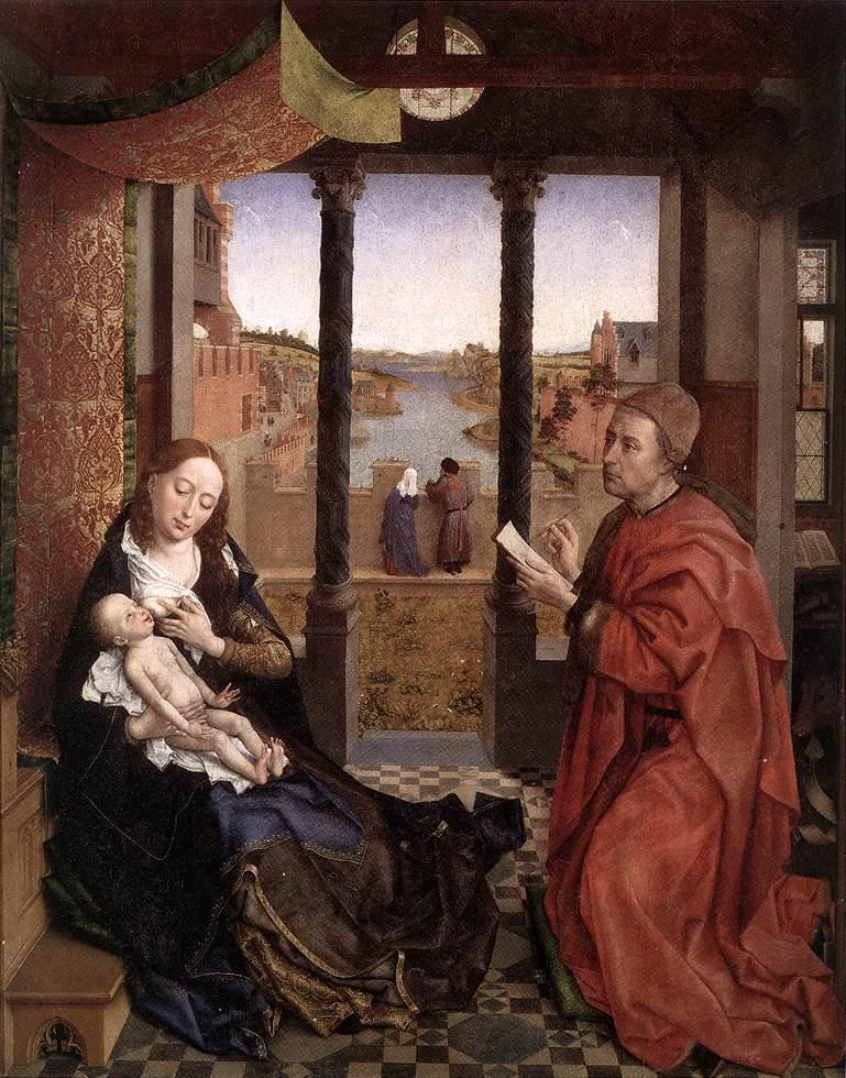 St Columba Altarpiece (detail) by Rogier van der Weyden